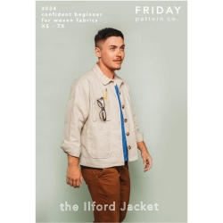 The Ilford Jacket Pattern by Friday Pattern Co. sold by Online Canadian Fabric Store Woven Modern Fabric Gallery