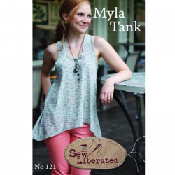 Myla Tank Pattern by Sew Liberated sold by Online Canadian Fabric Store Woven Modern Fabric Gallery