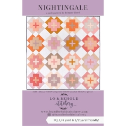 Nightingale Quilt Pattern by Lo & Behold Stitchery  sold by Online Canadian Fabric Store Woven Modern Fabric Gallery