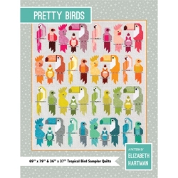 Pretty Birds Quilt Pattern by Elizabeth Hartman sold by Online Canadian Fabric Store Woven Modern Fabric Gallery