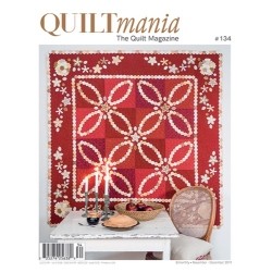 Quiltmania magazine for sale at Canadian online fabric store Woven Modern Fabric Gallery