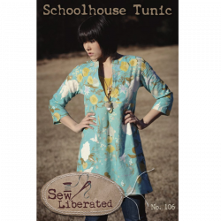 Schoolhouse Tunic Pattern by Sew Liberated sold by Online Canadian Fabric Store Woven Modern Fabric Gallery