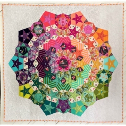 Tula Nova patter & paper pieces  by Tula Pink sold by Online Canadian Fabric Store Woven Modern Fabric Gallery