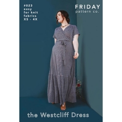 The Westcliff Dress Pattern by Friday Pattern Co. sold by Online Canadian Fabric Store Woven Modern Fabric Gallery