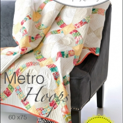 Metro Hoops Quilt Pattern by Sew Kind of Wonderful sold by Online Canadian Fabric Store Woven Modern Fabric Gallery