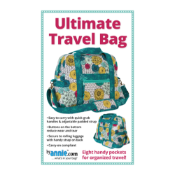Ultimate Travel Bag pattern from By Annie sold by Online Canadian Fabric Store Woven Modern Fabric Gallery