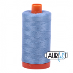 Aurifil Thread Light Delft Blue 50 wt sold by Online Canadian Fabric Store Woven Modern Fabric Gallery