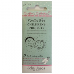 ohn James Needles for Children sold by Online Canadian Fabric Store Woven Modern Fabric Gallery