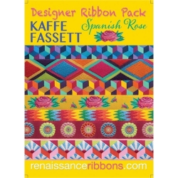 Kaffe Fassett Spanish Rose Ribbon Pack sold by Online Canadian Fabric Store Woven Modern Fabric Gallery