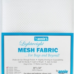 Mesh fabric white from By Annie sold by Online Canadian Fabric Store Woven Modern Fabric Gallery