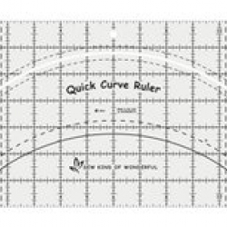 Quick Curve Ruler sold by Online Canadian Fabric Store Woven Modern Fabric Gallery