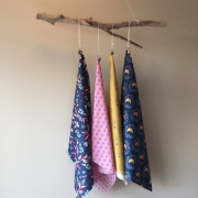 Monthly Studio Stash 4 half yard cuts for August 2019 sold by Online Canadian Fabric Store Woven Modern Fabric Gallery