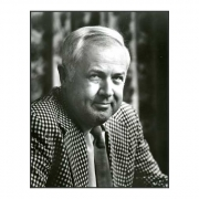 photo of Charley Harper whose designs on fabric are for sale at Canadian online fabric shop Woven Modern Fabric Gallery