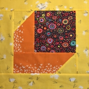 Learn to make this quilt block at Online Canadian Fabric Store Woven Modern Fabric Gallery