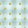 Gingdot Teal  by Tilda sold by Online Canadian Fabric Store Woven Modern Fabric Gallery