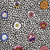 Guinea Flower White by Kaffe Fassett sold by Online Canadian Fabric Store Woven Modern Fabric Gallery