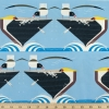 Pelican Feeding Organic fabric by Charley Harper for Birch Fabrics sold by Online Canadian Fabric Store Woven Modern Fabric Gallery