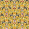 The Queens Jewels small gold fabric  by Odile Bailloeul for Free Spirit fabrics sold by Online Canadian Fabric Store Woven Modern Fabric Gallery