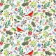 Cardinal Rule by August Wren for Dear Stella Fabrics for sale at Canadian online fabric shop Woven Modern Fabric Gallery