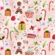 Holiday Sweets by August Wren for Dear Stella Fabrics for sale at Canadian online fabric shop Woven Modern Fabric Gallery