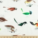 Western Birds Organic by Charley Harper for Birch Fabrics sold by Online Canadian Fabric Store Woven Modern Fabric Gallery