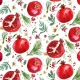 Pomegranate by August Wren for Dear Stella Fabrics for sale at Canadian online fabric shop Woven Modern Fabric Gallery