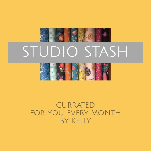 Monthly Studio Stash subscription sold by Online Canadian Fabric Store Woven Modern Fabric Gallery
